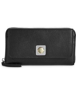 Mercer Leather Clutch Wallet