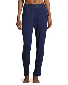 Lace Waist Pyjama Pants