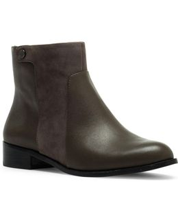 Cici2 Leather Booties