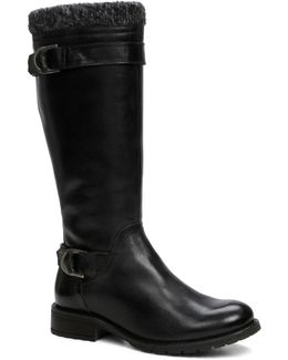 Colinet Leather Knee-high Boots