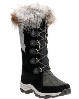 Outdoor Wintery Hi Suede Tall Boots
