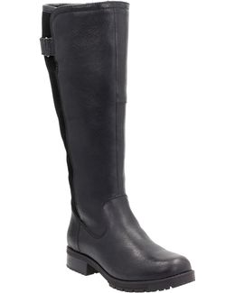 Faralyn May Waterproof Leather Knee- High Boots