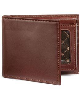 Boxed Sutton Leather Passcase