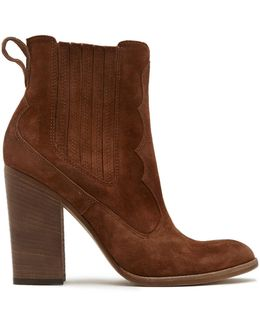 Conway Suede Booties