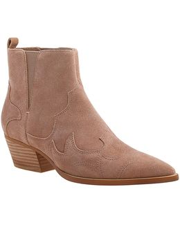 Cedar Suede Ankle Boots