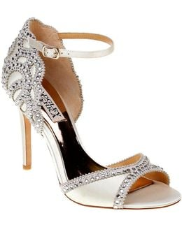 Roxy Ankle Strap Rhinestone Sandals