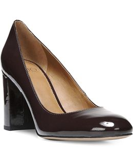 Aziza Patent Pumps