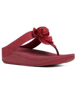 Florrie Nubuck Leather Sandals