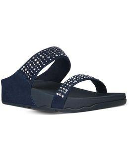 Novy Suede Slide Sandals