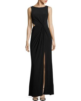 Jersey Cut-out Gown