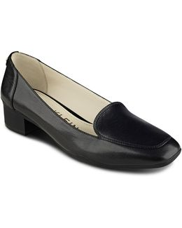 Daneen Patent Leather Loafers