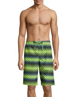 Printed Volley Swim Shorts