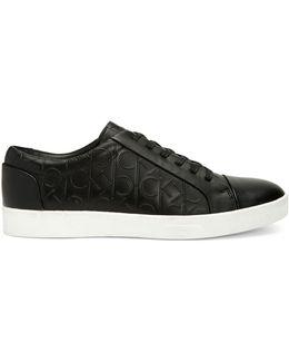 Igor Leather Logo Sneakers