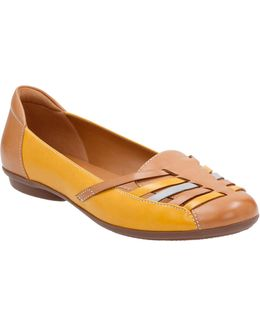 Cushion Soft Leather Grace Flats