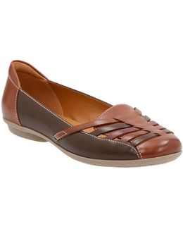 Cushion Soft Leather Grace Flats