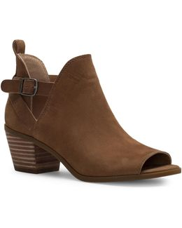 Banu Leather Booties