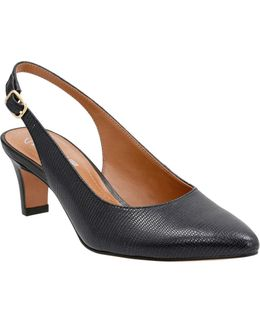 Cushion Soft Riley Leather Slingbacks