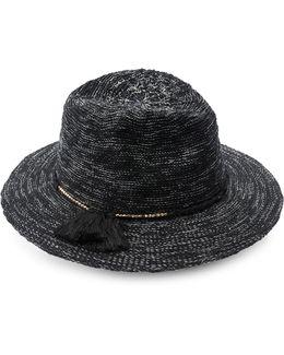 Cotton Slub Yarn Panama Hat
