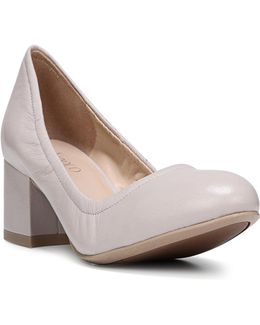 Fausta Round Toe Pumps