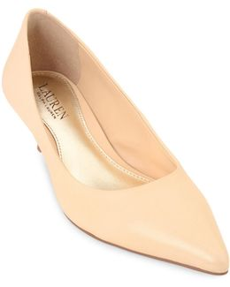 Abbot Leather Pumps
