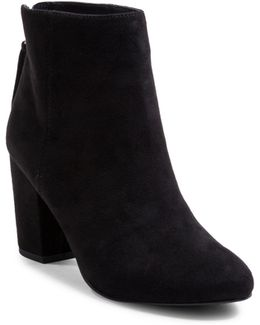 Cyndy Suede Booties