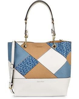 Sonoma Patchwork Reversible Tote Bag