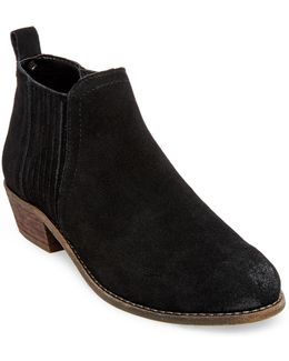 Tallie Suede Booties