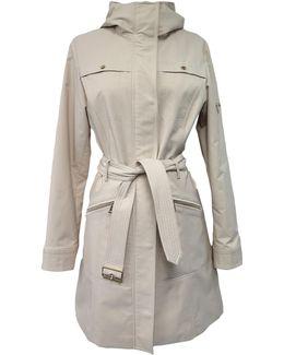 Hooded Anorak Trench Coat