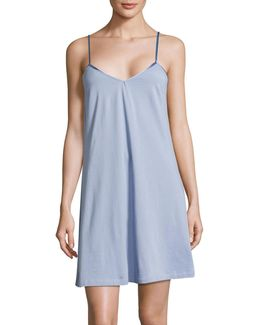 Pima Cotton Short Chemise