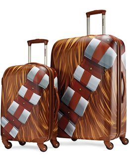 Star Wars Chewbacca Two-piece Suitcase Set