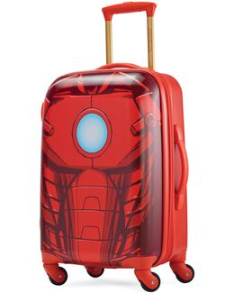Marvel Iron Man Spinner Carry-on Suitcase