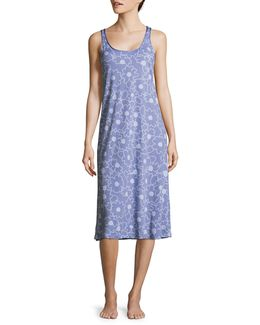 Pima Cotton Long Chemise