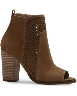 Lakmeh Perforated Ankle Boots