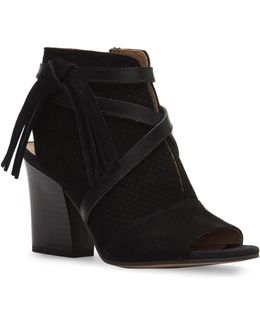 Fina2 Suede Ankle Booties