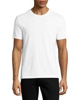 Solid Pima Crew T-shirt