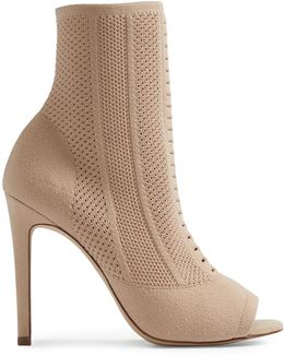Keshaa Peep Toe Booties
