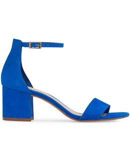 Villarosa Block Heel Leather Sandals