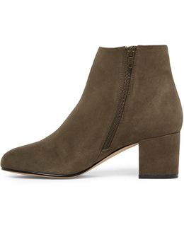 Ciredia Suede Ankle Boots