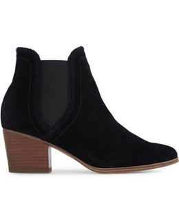 Velirien Leather Chelsea Ankle Boots