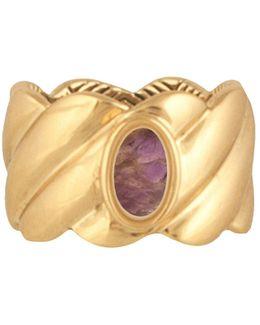 Ribbed Valda Ring