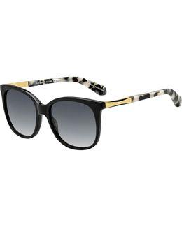 Julieanna 54mm Rectangular Sunglasses