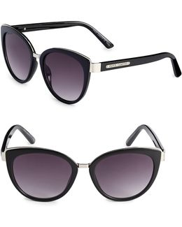 50mm Cat-eye Sunglasses