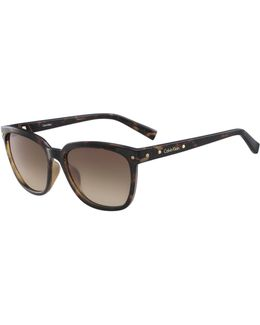 White Label Square 55 Mm Sunglasses
