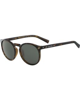 White Label Round 51 Mm Sunglasses