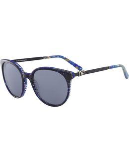 Marianna 55mm Round Sunglasses