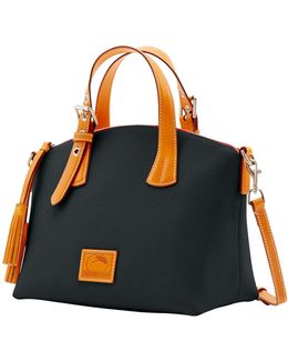 Trina Leather Satchel