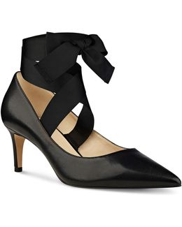 Sylmar Leather Pumps