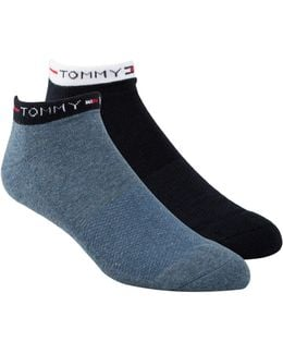 Two Pack Liner Socks