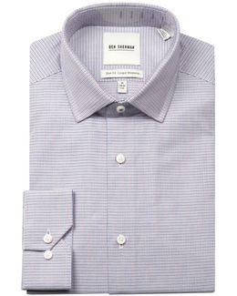 Wrinkle-free Multi-textured Sport Shirt