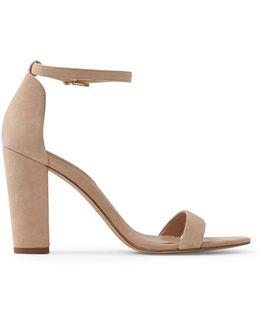 Myly Suede Block Heel Sandals